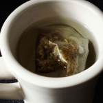 Slendertoxtea Teatox Detox Tea Brewing in a Cup for Helping Bloatedness and Weight loss